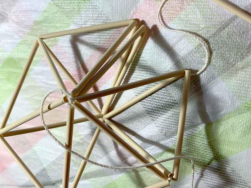 6角形が7角形になるところだったヒンメリパーツ