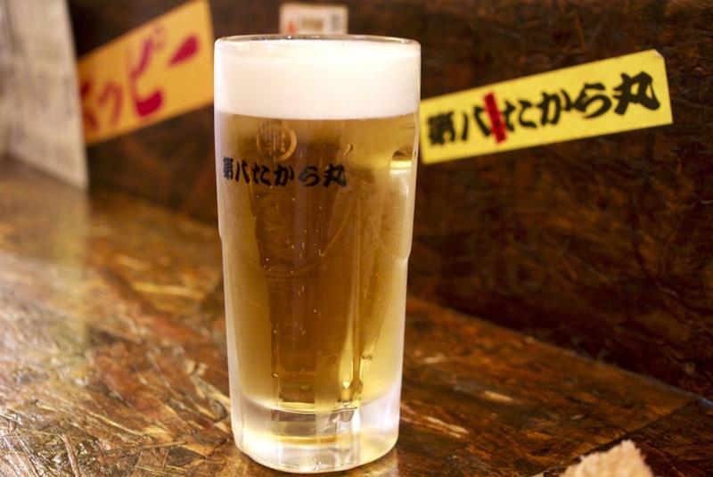 第八たから丸ビール1
