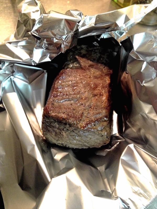圧縮ローストビーフ肉休め1