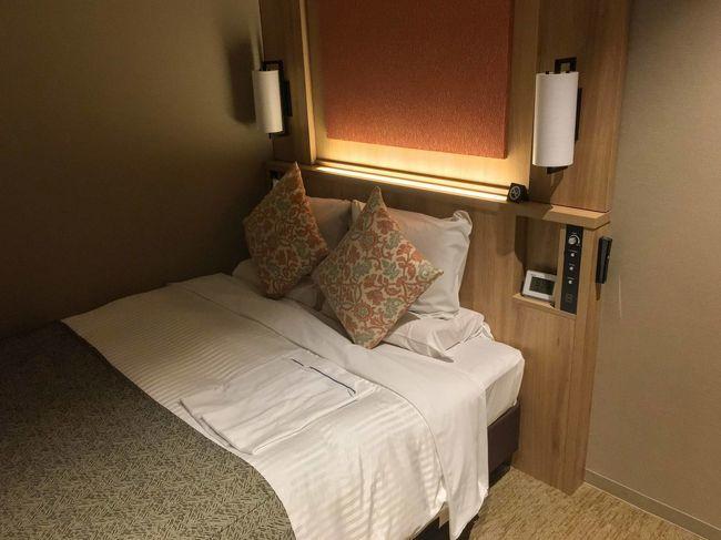アートホテル盛岡_室内_ベッド