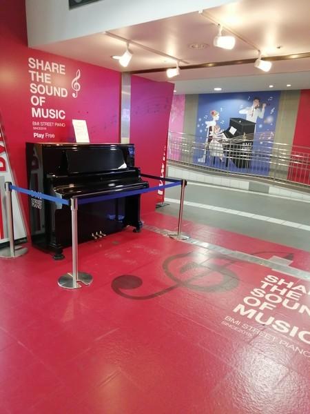 BMIストリートピアノ