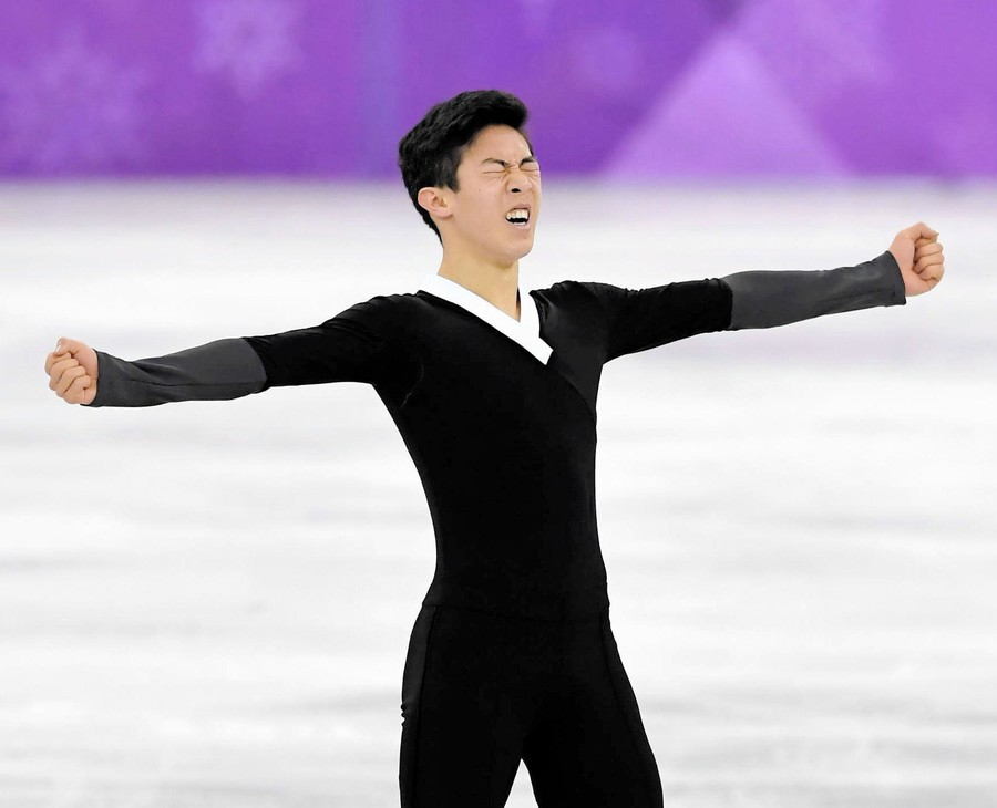 【動画】ネイサン・チェンが平昌オリンピックの男子FS(フリー)で4回転5本成功!ソチの真央ちゃんだと話題に!