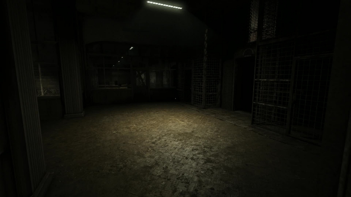 Dark Creepy Basement - Dark creepy basement