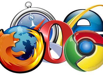 ブラウザ IE Chrome opera