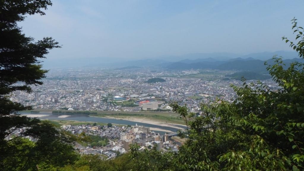 岐阜城とペット