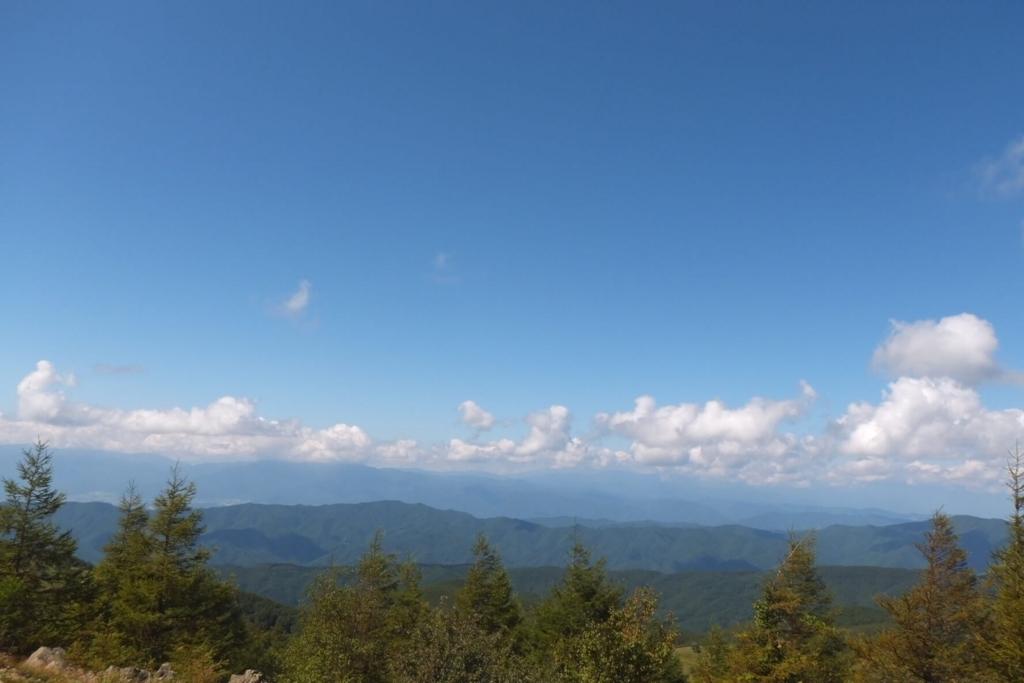 入笠山:山頂の景色3