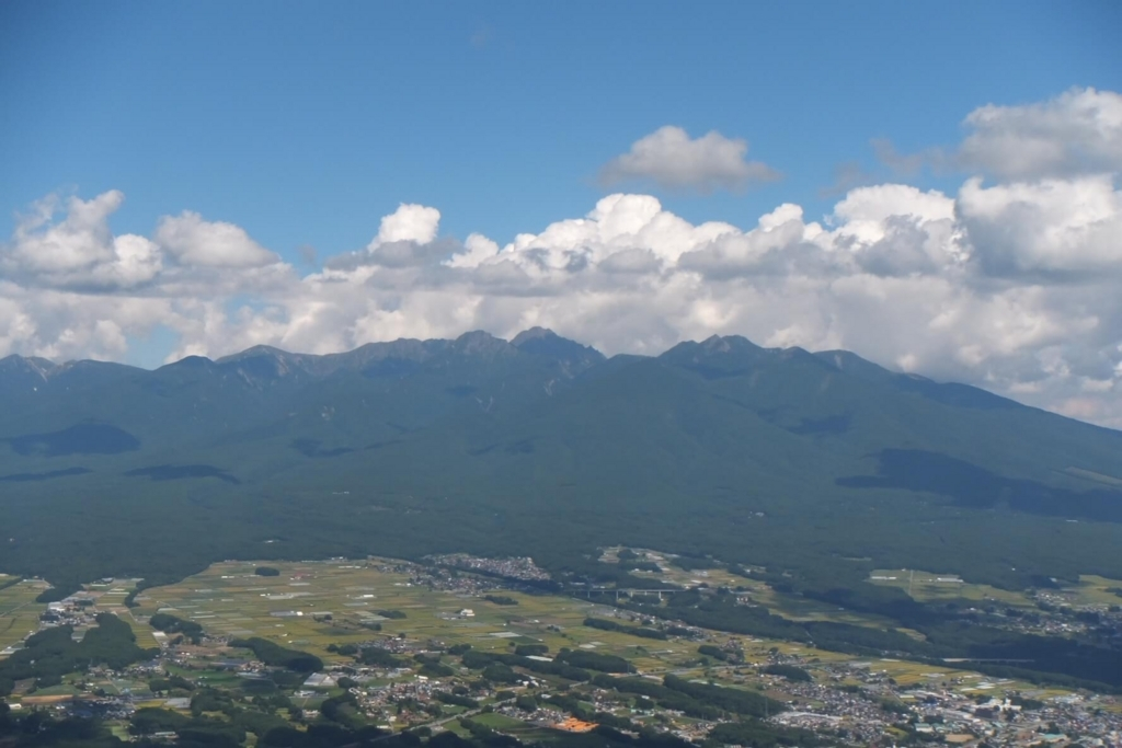 入笠山:八ヶ岳展望台