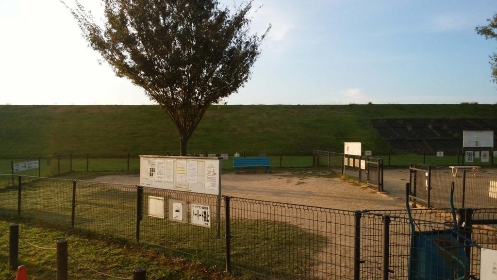 庄内緑地公園:ドッグラン2