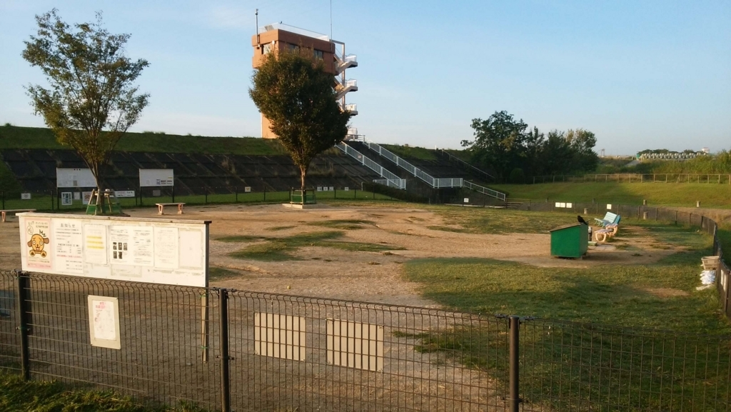 庄内緑地公園:ドッグラン1