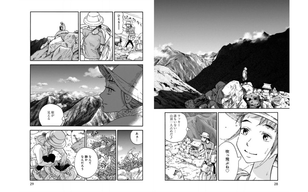 山と食欲と私:山頂の景色