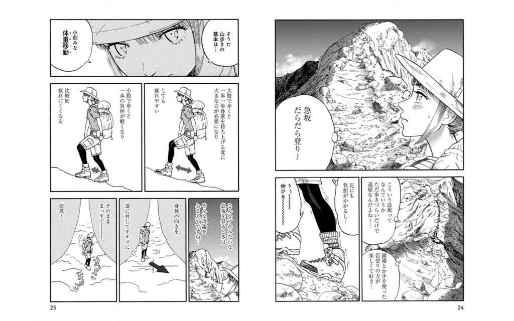 山と食欲と私:テクニック