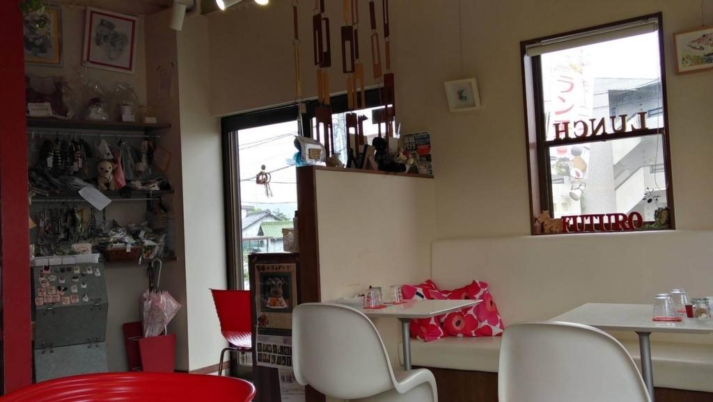 春日井市ドッグカフェ:FUTURO雨の日の内観1