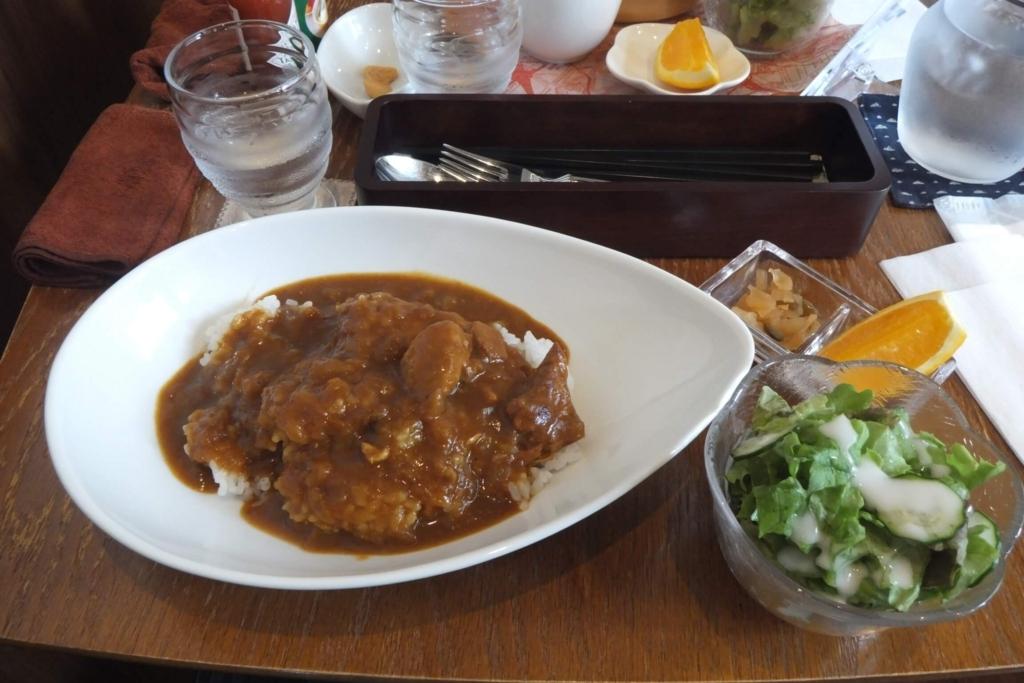 ドッグカフェ:恵那市フェリーチェ:チキンカレー