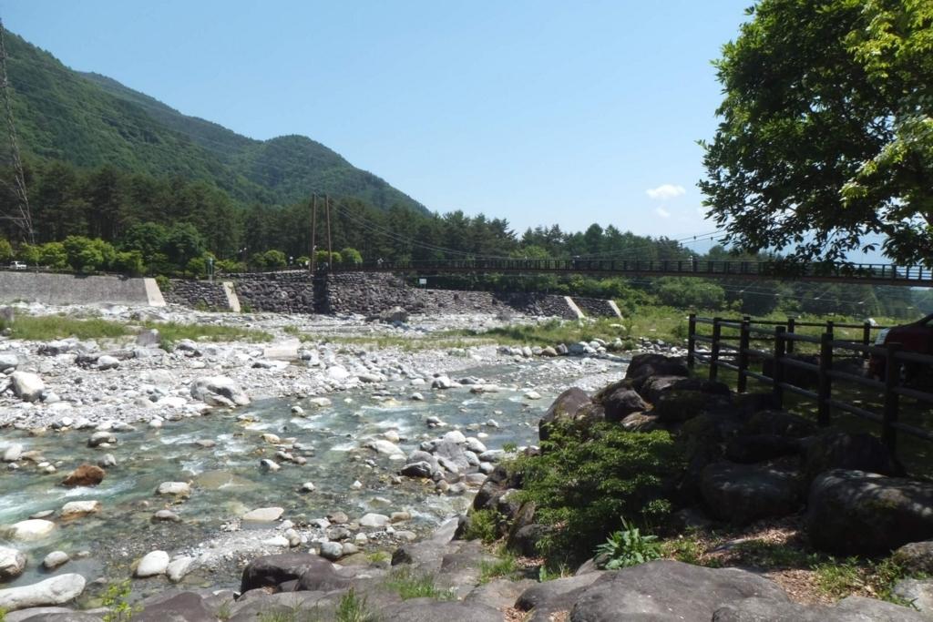 長野県駒ケ根市:こまくさ橋