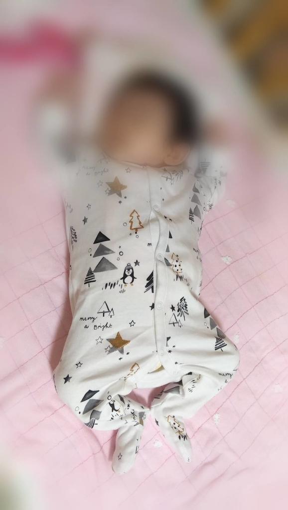 next:ベビー服 スリープウェア 白