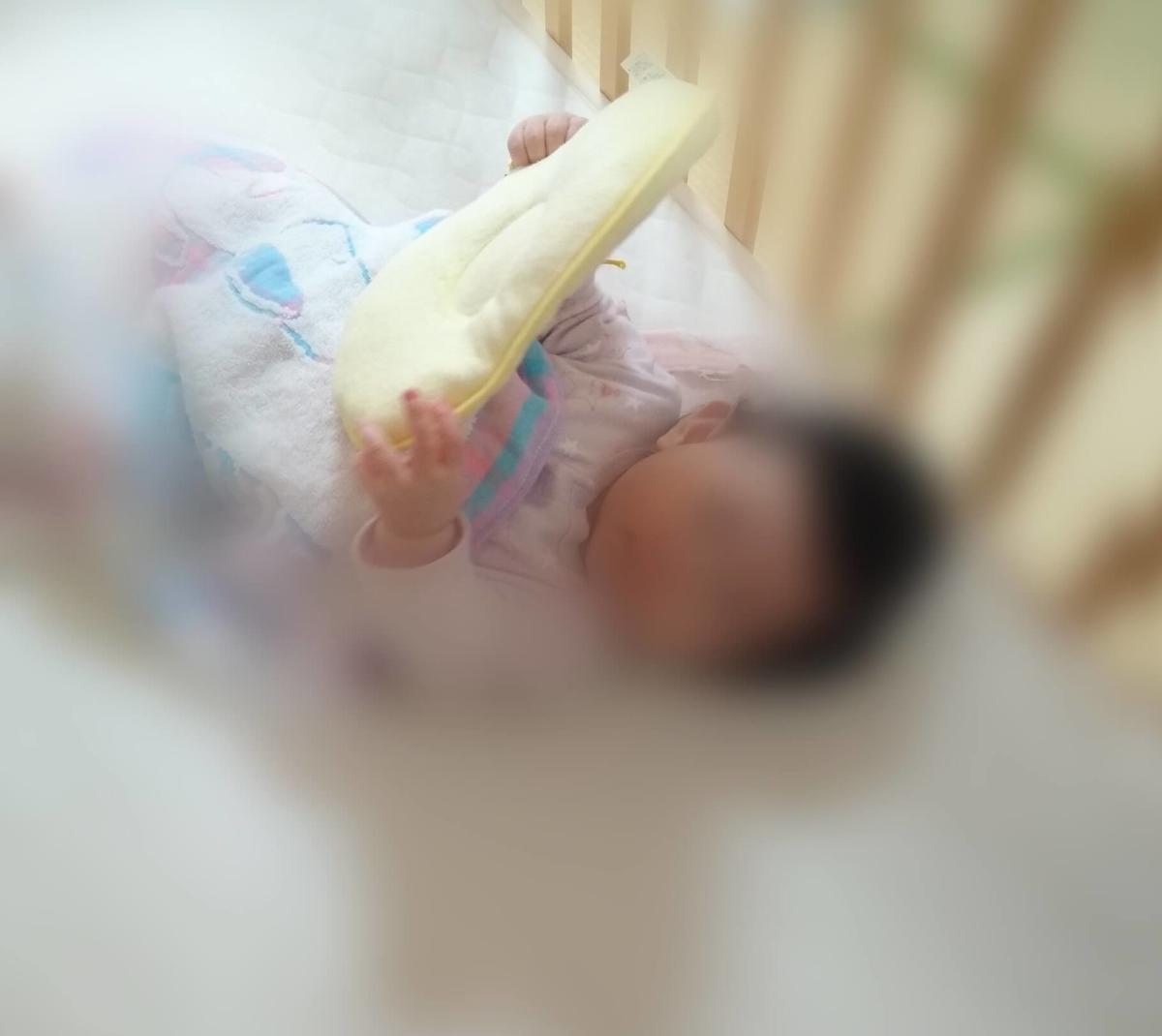 赤ちゃん:アドコーの枕