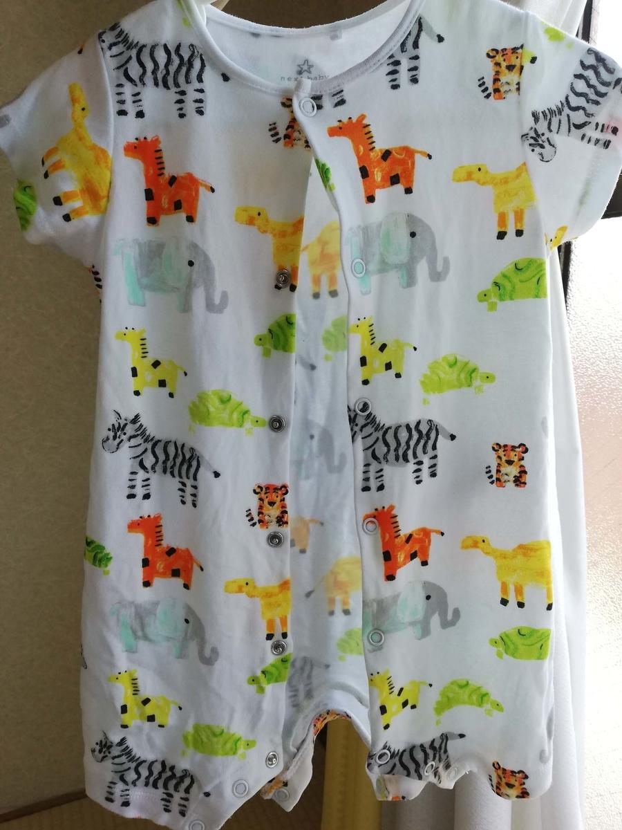 ベビー服:next 夏物 動物のデザイン その2