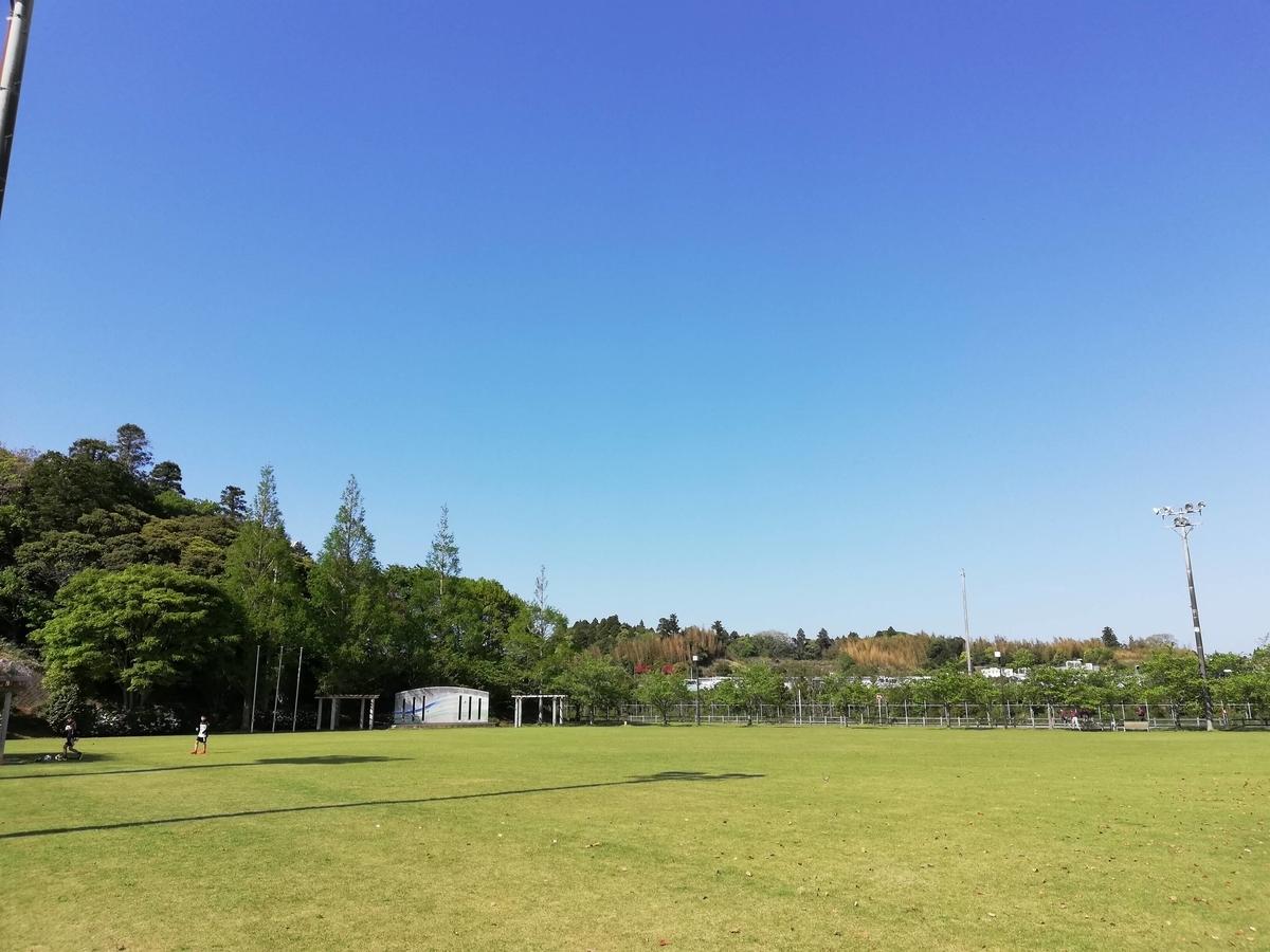 千葉県横芝光町:光スポーツ公園 天然芝の広場