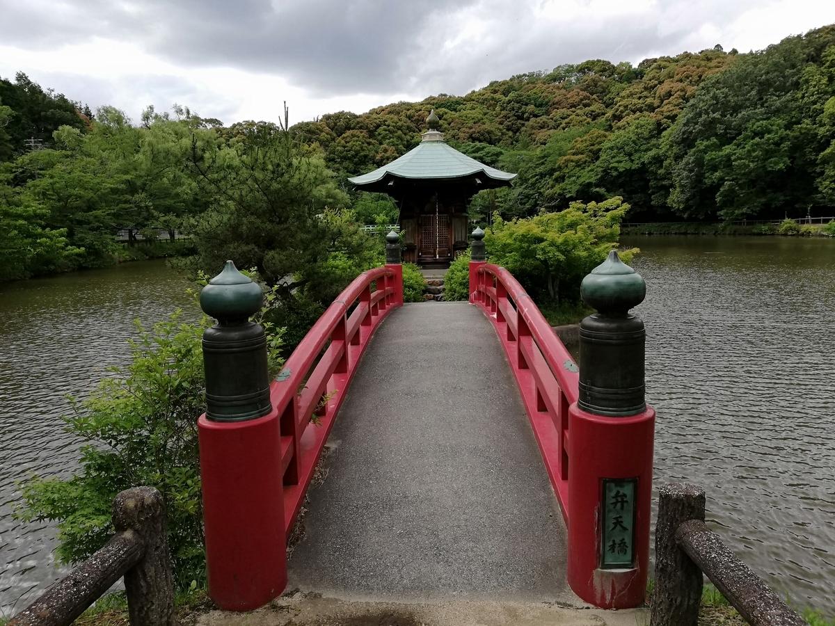 愛知県内でペットと遊ぶ:瀬戸市 定光寺公園 六角堂