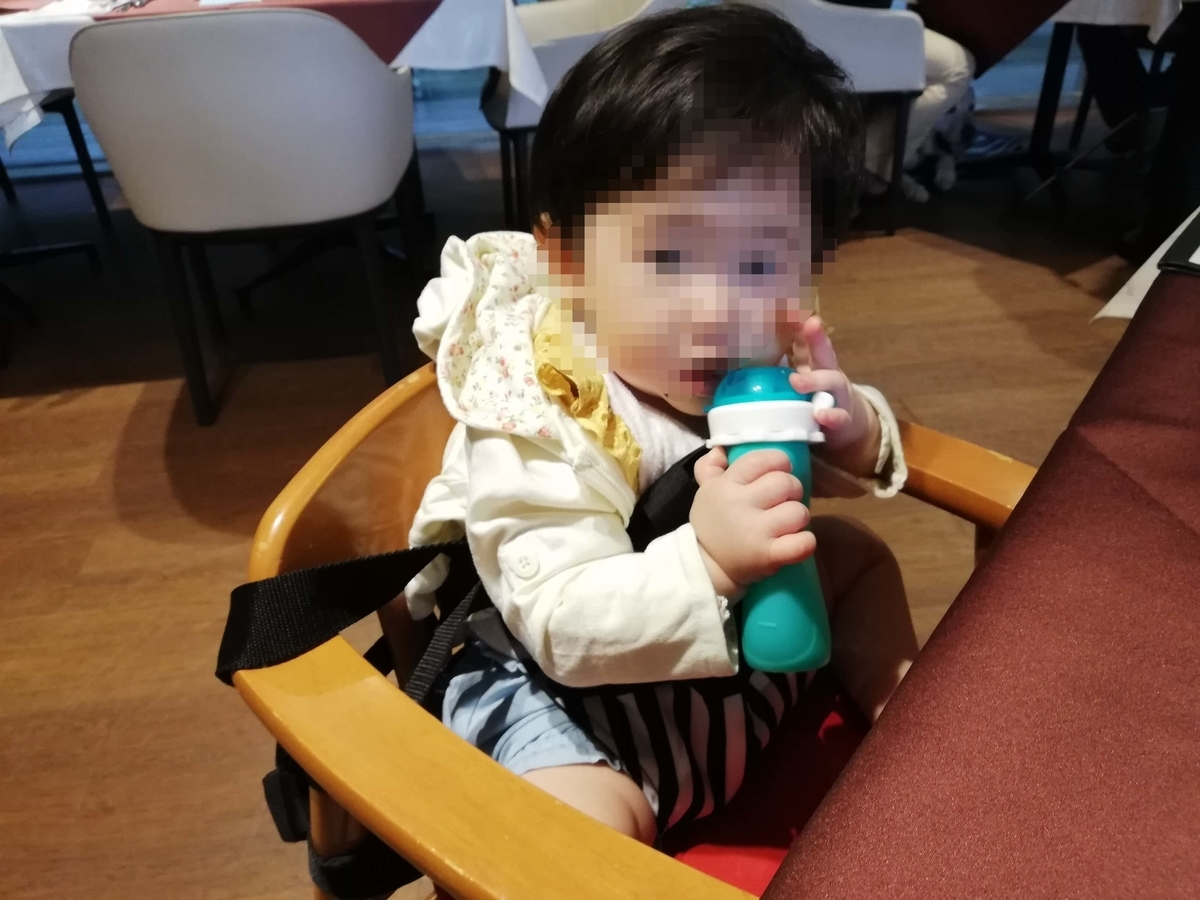 Bebe Pocket チェアベルトの使用感 赤ちゃん用のイスが無くても安心