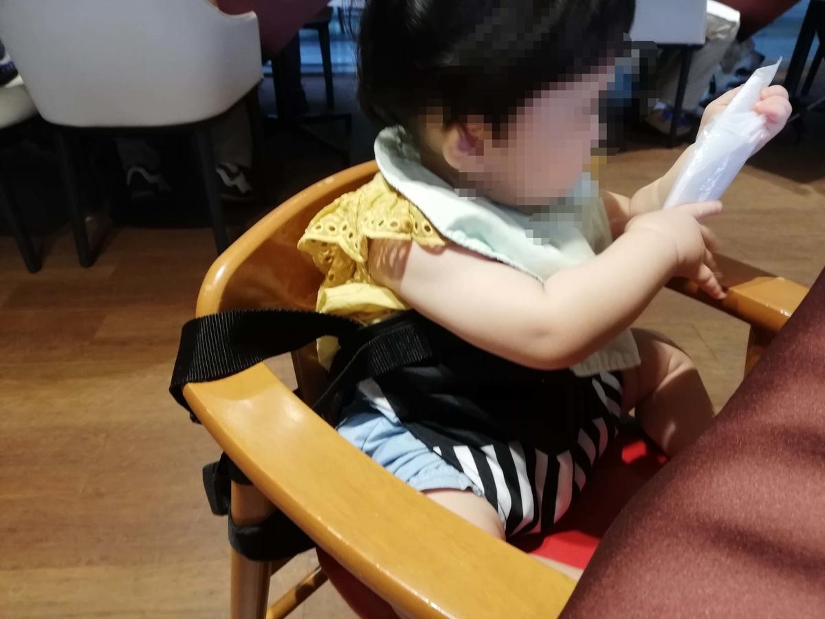 Bebe Pocket チェアベルトの使用感 子どもが動いても安心