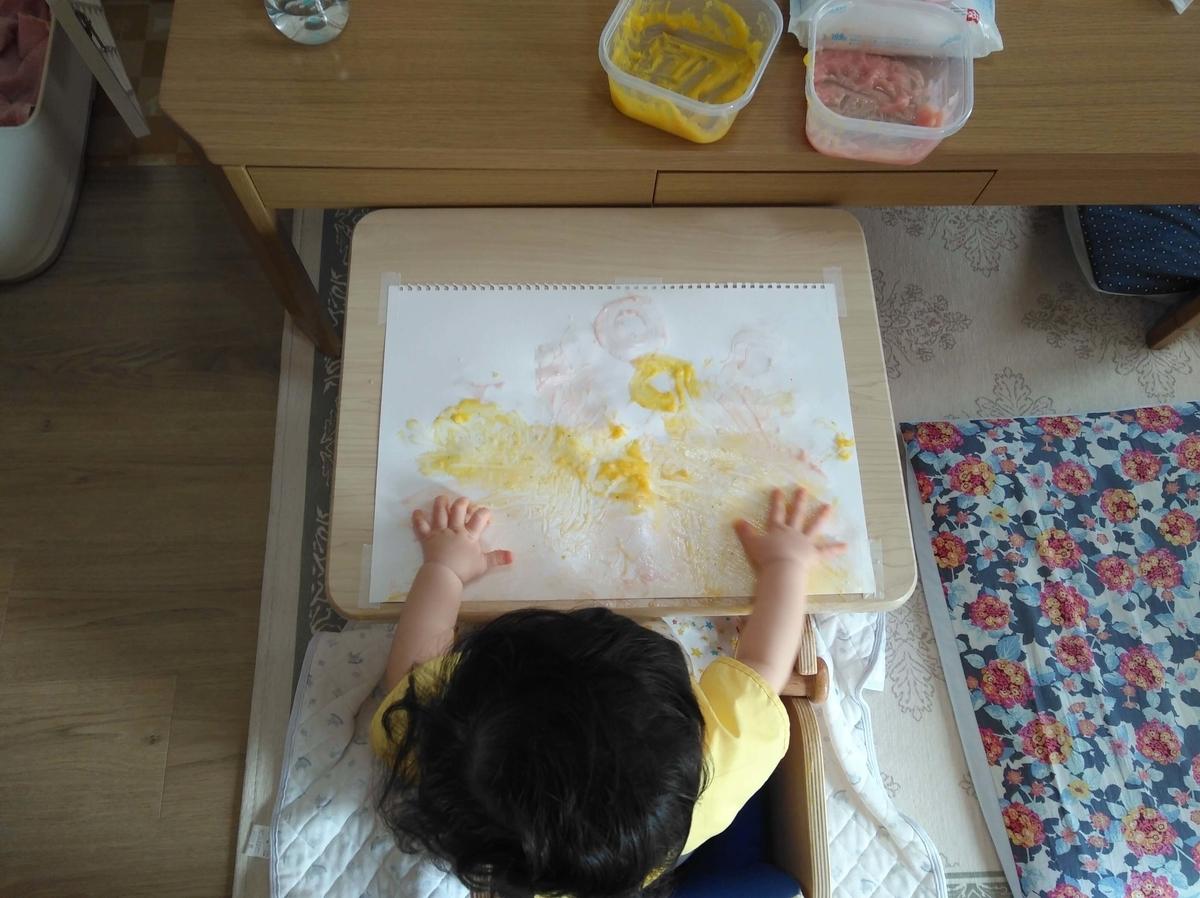 小麦粉絵の具 自作