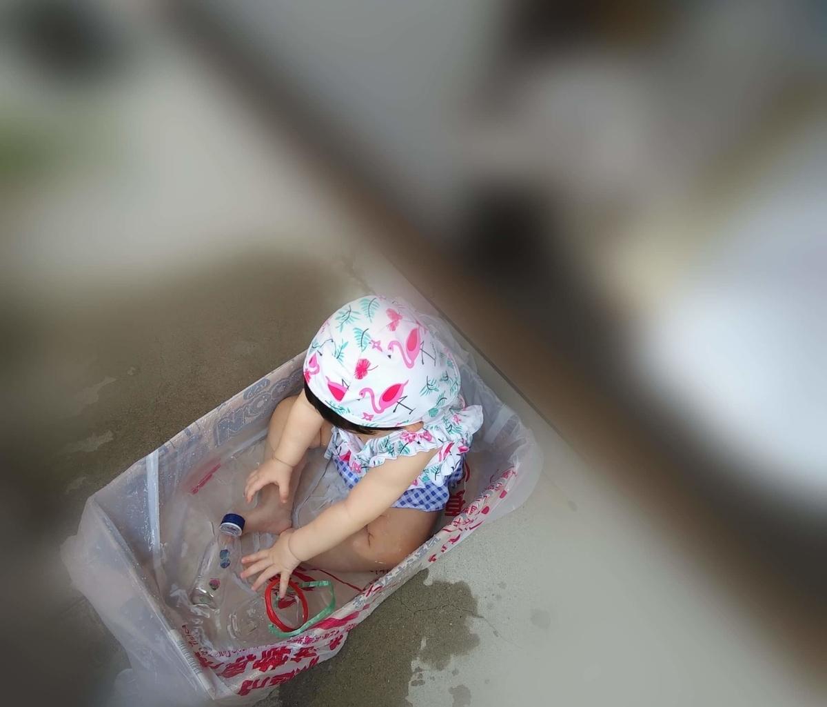 赤ちゃん用 プール 自作