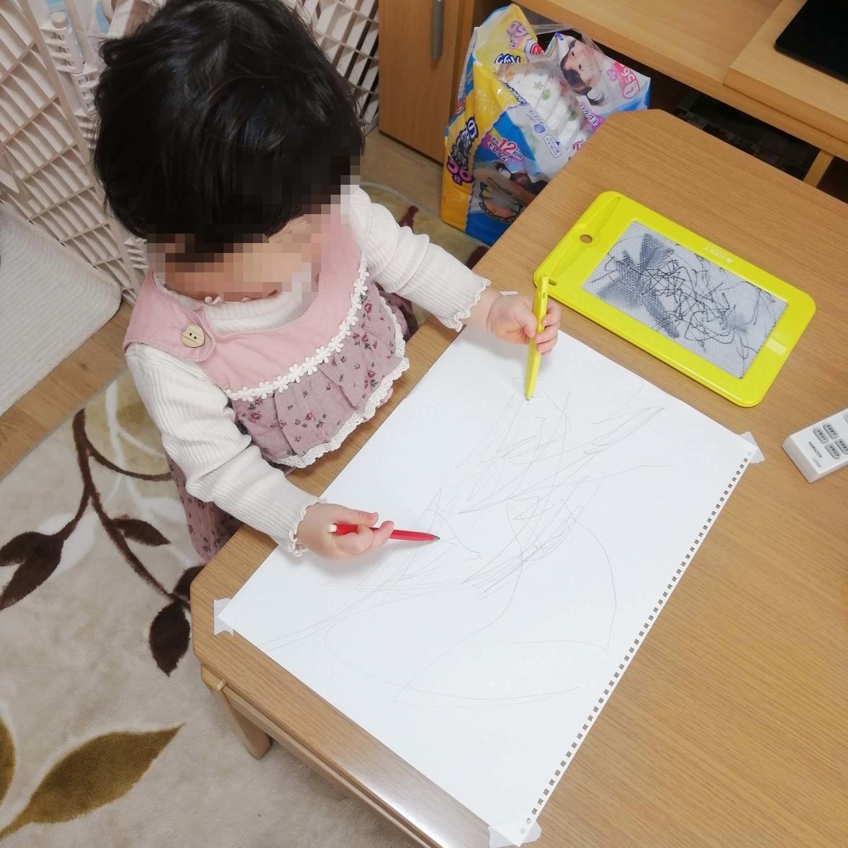 子どものおもちゃ:お絵かきボード PILOT
