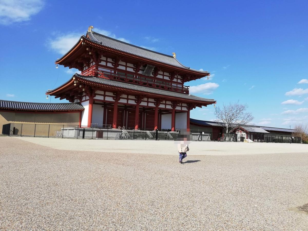 奈良県内でペットとお出かけ:平城京跡
