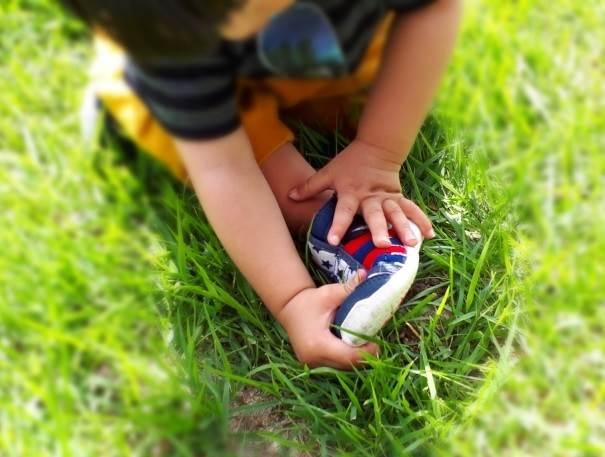 子供靴イメージ図