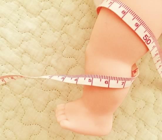 子供足計測のイメージ