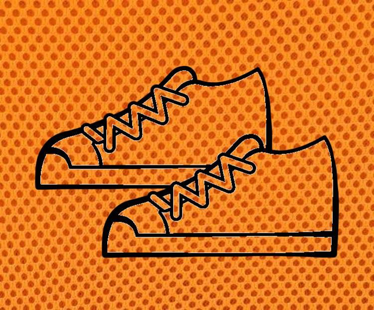 通気性良い靴のイメージ図