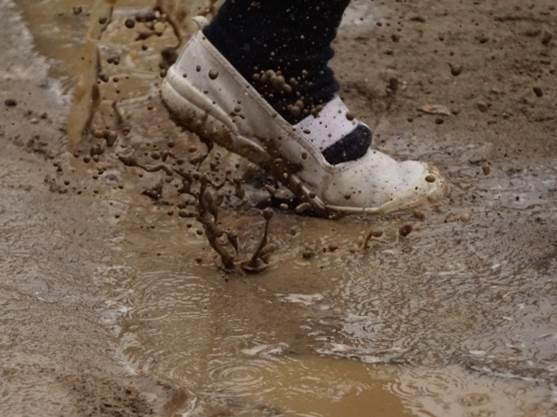 泥水のイメージ図