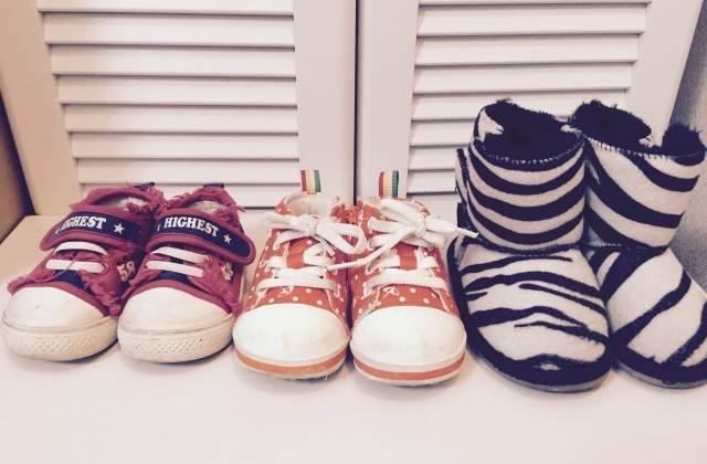 子供靴のイメージ図