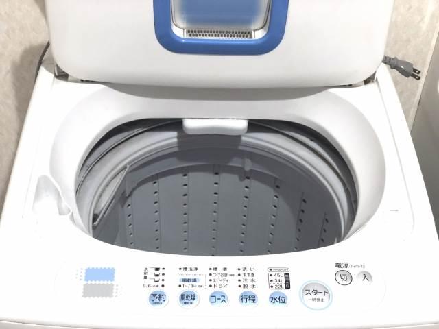 洗濯機のイメージ図