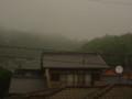 台風接近時の空模様