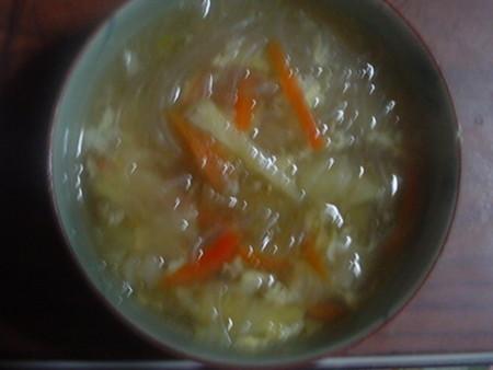 和風春雨スープ