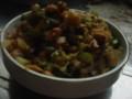 ねぎ味噌大豆