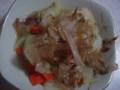 白菜と油揚げの煮びたし