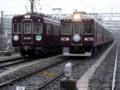 阪急6300系と阪急2300系