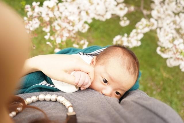 赤ちゃんと幸せな時間