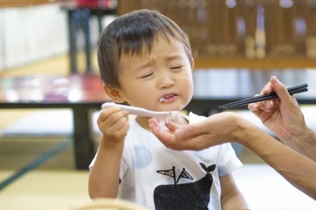 ごはんを食べない子ども