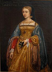 母イザベルと伯父カール5世