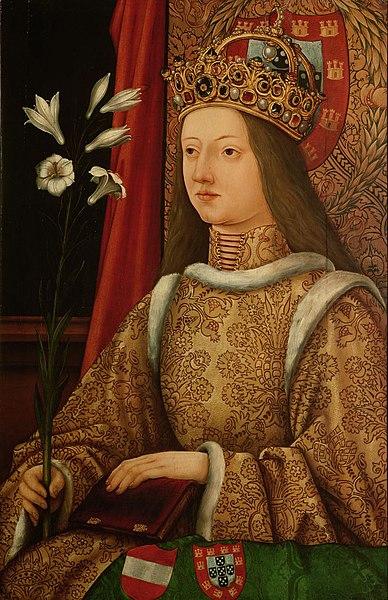 エレオノーレ・ヘレナ・フォン・ポルトゥガル 神聖ローマ皇帝フリードリヒ3世妃 クニグンデの母