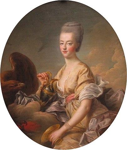 1773年のマリー・アントワネット  フランソワ=ユベール・ドルーエ