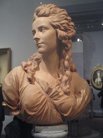 ヴィジェ=ルブラン胸像 1785年 パジュー作