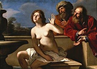 『スザンナと長老たち』 グエルチーノ 1650年頃