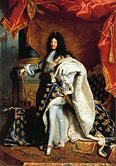 フランス王ルイ14世(1638年ー1715年)
