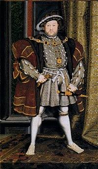 イングランド王ヘンリー8世(1491年ー1547年)