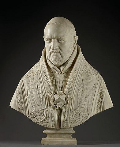 教皇パウルス5世胸像 ベルニーニ 1621年 ゲッティセンター蔵